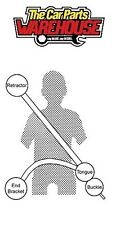 NUOVO SECURON CINTURA DI SICUREZZA 264 LAP & Diagonale Cintura x1 XXX XXX OFFERTA SPECIALE