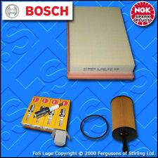SERVICE KIT for PEUGEOT 307 1.4 8V PETROL OIL AIR FILTERS PLUGS (2001-2003)