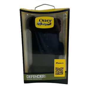 OtterBox Defender Series Rugged Case iPhone 6+  iPhone 6s+  New In Box   Black