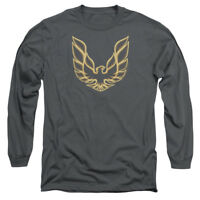 Pontiac ICONIC FIREBIRD Licensed Adult Long Sleeve T-Shirt S-3XL