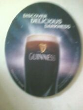 GUINNESS ** new **   Beermat / Coaster - double sided - OVAL