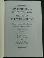 Contemporary Cultures and Societies of Latin America:A Reader..1st Ed hard cover