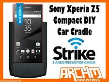 STRIKE ALPHA SONY XPERIA Z5 COMPACT CAR CRADLE DIY BUILT-IN CHARGER SECURE HOLD