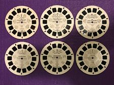 Lot of 6 miscellaneous Viewmaster Reels Dukes of Hazzard, Moonraker, Batman