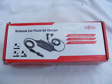 Fujitsu Notebook Power Adapter Auto Camión Aire 12/24v 100w s26391-f2613-l600