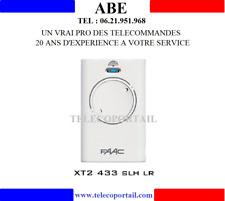 TELECOMMANDE FAAC XT2 433 SLH  787003  433.92 Mhz POUR PORTAIL PRIVE