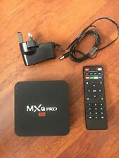MXQ PRO 4K OTT TV BOX ANDROID PLAYER WITH REMOTE