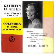 "Kathleen Ferrier - Kathleen Ferrier With Gerald Moore At The Piano - 7"" Vinyl"