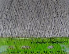 100% Linen Yarn, 1000 g, gray, Light Worsted, roving,  soft, thick, Belgium