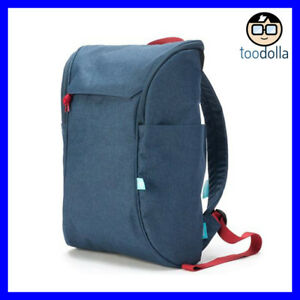 Booq Daypack Laptop Backpack, minimalist design, 13-15 inch Mac, 15.6 PC, Blue