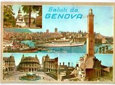 Cartolina saluti da Genova Moto Nave Augustus  1961 (GS513)