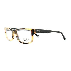 Ray-Ban Monturas de Gafas 5245 5608 Amarillo Carey Negro 52mm Hombre