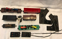 VINTAGE Lionel Train Cars-Six different cars, switch tracks, controllers