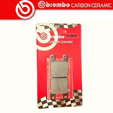 Beläge Bremse BREMBO Kohlenstoff Ceramic Hinten Für Fantic Versuch 125.5 125 89>