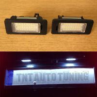 LED License Number Plate Lights 6000K VW Golf mk4 mk5 mk6 Polo 6N2 9N 9N3 6R