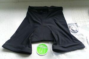Endura and Altura - pair unused mountain bike padded liner shorts - Large