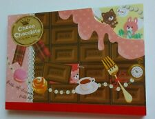 Crux Kawaii Chick Chocolate Animals Large Memo Pad stationery sticker