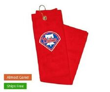 Phillies embroidered golf towel