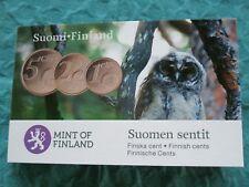 Finland 2011 Coincard 1 , 2 en 5 Eurocent