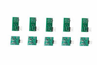 5Pcs 433Mhz RF Transmitter and Receiver Link kit for Arduino ARM MCU WL Module