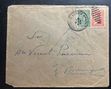 1922 Colombia Cover To Barranquilla