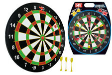 """16"""" Full Size Magnetic Darts Board Dartboard 6 Darts Kids Party Game Toy Playset"""