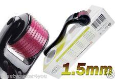 (540 Needles) TMT Derma Micro Needle Titanium Roller for Scars,Cellulite 1.5mm