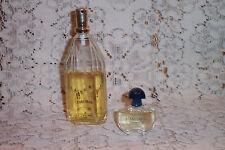 Guerlain Shalimar Eau de Parfum Spray 1.7oz 60% Full PLUS New 0.17oz EDT Mini