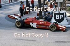 Jacky Ickx Ferrari 312 B3 Monaco Grand Prix 1973 Photograph 3