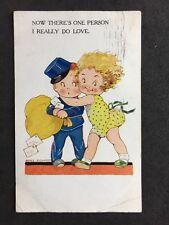Vintage Postcard: Artist Signed: #A132 : Agnes Richardson : 1932