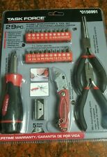 STUBBY SCREWDRIVER AND TOOL SET 29 PIECE