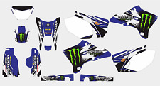 0381 YAMAHA WR 250 F WR 450 F 2003-2006 DECAL STICKER GRAPHIC KIT