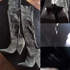 7f307457055 ISABEL MARANT Stretch Suede Thigh High Boots
