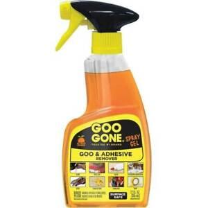 Goo Gone UK - Spray Gel 355ml (12 oz) - Adhesive, Tar, Sticker & Glue Remover