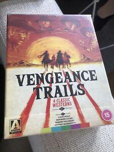 Arrow Blu-Ray Vengeance Trails 4 Classic westerns