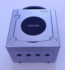 Nintendo Game Cube Game Console Works Silver R13681