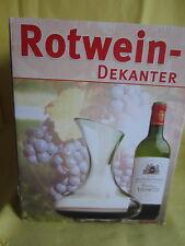 Rotwein Dekanter 1,5l mundgeblasen / domino Vertriebs GmbH
