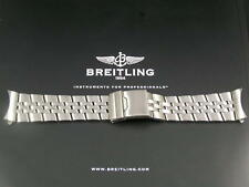 ULTIMATE HEAVY STEEL BRACELET STRAP FOR BREITLING NAVITIMER BENTLEY GT AEROSPACE
