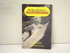 BOOK - THE BASIC ESSENTIALS OF MOUNTAINEERING BY JOHN MOYNIER