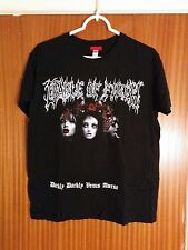 Cradle of Filth Tour Shirt Darkly Darkly Venus Aversa 2010 Extreme Metal Medium