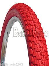 Copertone / Pneumatico 20 x 1.95 ( 50 - 406 ) BICI MTB - MOUNTAIN BIKE BMX ROSSO