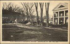 Montpelier VT 1927 Flood Damage VINTAGE EXC COND Postcard #16