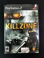 Killzone (Sony PlayStation 2, 2004) - PS2 Case and Disk Tested Working