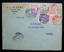 ROMANIA COVER BUCAREST 1922 TO LONDON