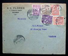 ROMANIA COVER BUCAREST 1922 TO LONDON