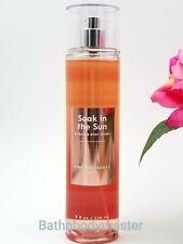 Bath and Body Works SOAK IN THE SUN PEACH SUNSET Fine Fragrance Mist Spray 8 OZ