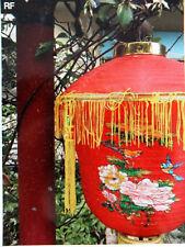 "CHINESE XL 12"" RED PALACE LANTERN LIGHT SHADE GARDEN SHOP JAPANESE WEDDING PARTY"