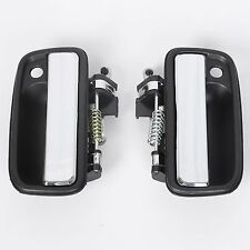 Pair Chrome Exterior Door Handle for 95-04 Toyota Tacoma Front Driver Passenger