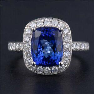18k White Gold Stunning VS Diamonds & AAAA+ Tanzanite Ring Beauty