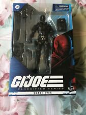 GI Joe Classified Wave 1 SNAKE EYES Action Figure